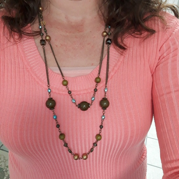 Jewelry - Double Golden Whimsy Necklace